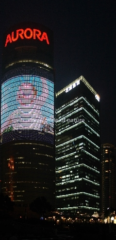 Aurora Tower und Citigroup Tower - Shanghai - China / Aurora Tower and Citigroup Tower  - Shanghai - China
